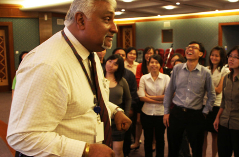 30 Final Year Hong Leong Scholars Spend a Day at Our Group