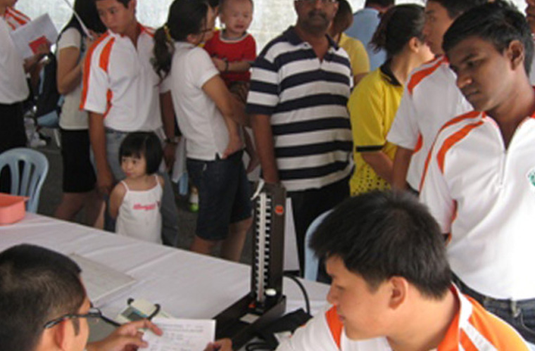 Blood Donation Drive by Melaka and Northern Johore RMC