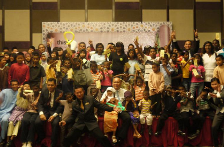 2nd Anniversary with Underpreviledged Children