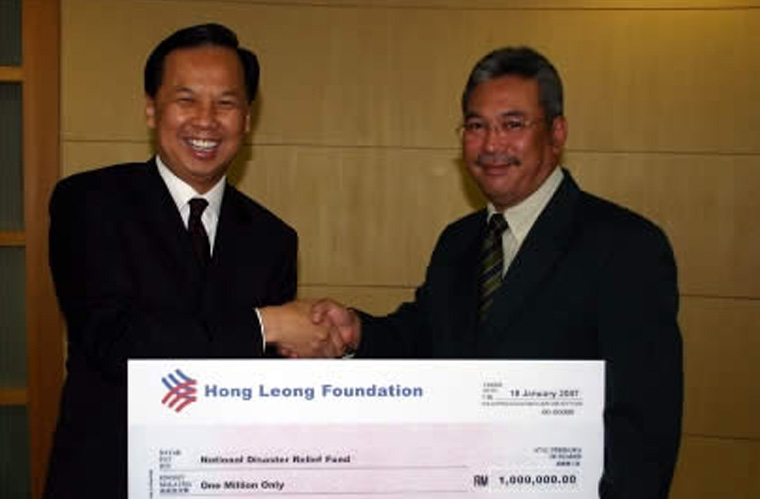Foundation Donates to the National Relief Fund