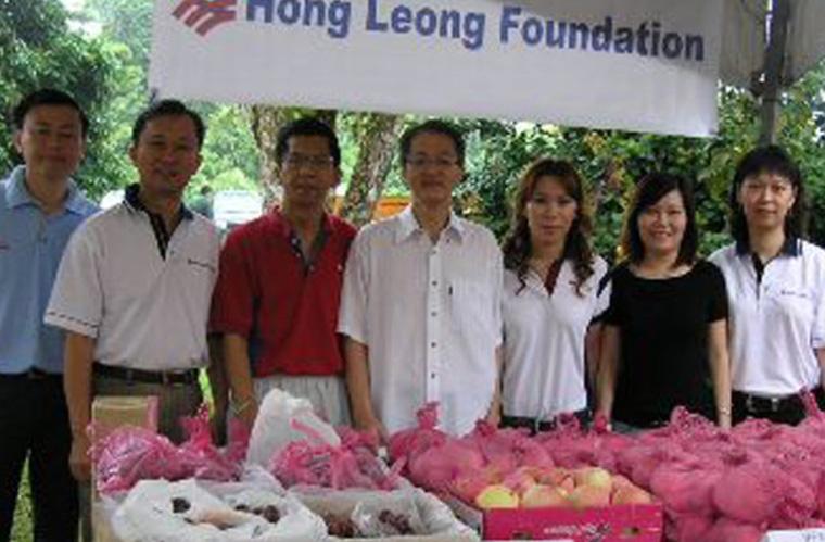 RMC Sarawak at Lions Nursing Home Food Fair